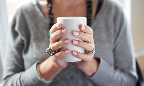 Up to 35% Off on Manicure - Shellac / No-Chip / Gel at Elevate Nail Lounge