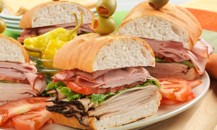 PMS Deli - Virginia Beach: Sandwiches and Wraps or Catering at PMS Deli (Up to 42% Off)