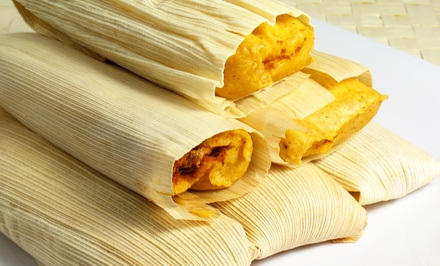 Two Dozen, Three Dozen, or Four Dozen Tamales at Las Chiladas (Up to 50% Off)
