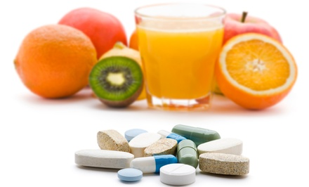 $15 for $30 Worth of Vitamins and Supplements at Major Health Foods