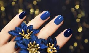 Glossy nails & lashes: Manicure (39,99 zł) lub pedicure (49,99 zł) hybrydowy i więcej w salonie Glossy nails & lashes (do -46%)