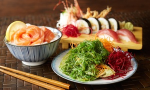 Ryo Sushi: Sushi and Japanese Cuisine for Two or More at Ryo Sushi (Up to 40% Off). Two Options Available.