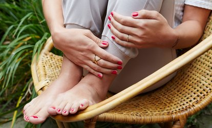 Gel Manicure, Pedicure or Both at Rachel's Beauty @ Embellish Nails and Beauty (Up to 63% Off)