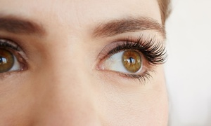 Liquid Hedz: Full Set of Classic ($39) or Volume ($49) Eyelash Extensions at Liquid Hedz, Two Locations (Up to $100 Value)