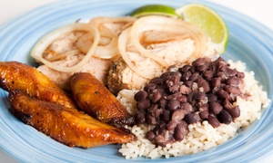 Chez Lama Haitian Cuisine: $12 for $20 Worth of Haitian Food for Lunch or Dinner for Pickup or Delivery at Chez Lama Haitian Cuisine