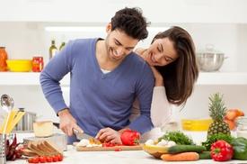 """Tischline: 1x oder 2x  Kochbox """"Pärchentüte"""" oder """"Vegetarische Tüte"""" inkl. Lieferung von Tischline (bis zu 34% sparen*)"""