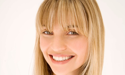$50 for a Haircut, Deep-Conditioning, Highlights, and Style Package at The Yellow Brick Salon ($100 Value)