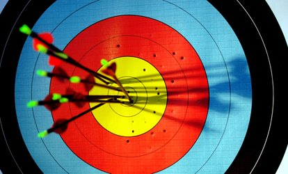 image for One-Hour Archery and One-Hour Axe Throwing for One, Two or Four at Yorkshire Activity Centre (Up to 70% Off)