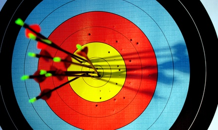 OneHour Beginners' Archery Class for Two $29, Three $44 or Four People $55 at AIM Archery Club Up to $120 Value