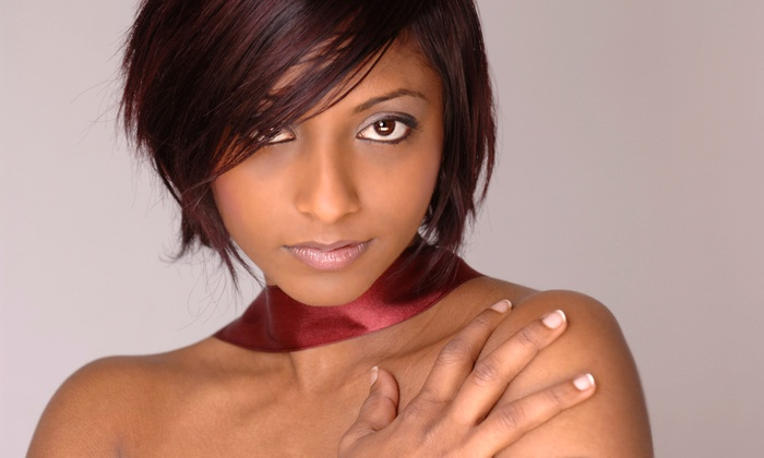 BMG Style Studio - Silver Spring: $55 for Silk Press and Steam Hydration with Trim at BMG Style Studio ($150 value)