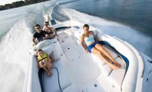 Hayley's Jet Ski & Boat Rentals: Half-Hour Jet-Ski Rental or Half-Day Boat Rental of Choice at Hayley's Jet Ski & Boat Rentals (Up to 51% Off)