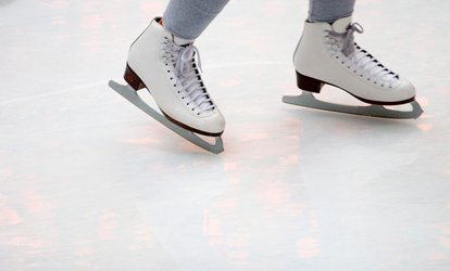 image for Ice-Skating Outing for Two or Four with Skate Rental and Hot Cocoa at Northford Ice Pavilion (Up to 48%Off)