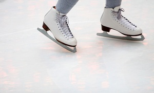 Ice-Skating Outing for Two or Four with Skate Rental and Hot Cocoa at Northford Ice Pavilion (Up to 57%Off)