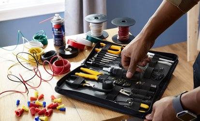 Electrician Services: Two ($135), Three ($199) or Four Hours ($275) from Goodnest, Three Locations (Up to $316.25 Value)