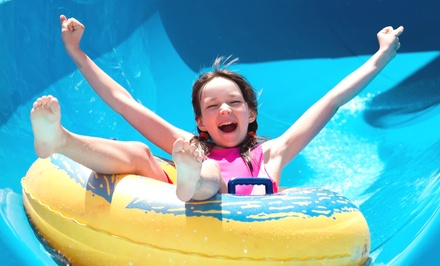 Admission for Two or Four at Turtle Tide Water Slides (37% Off)