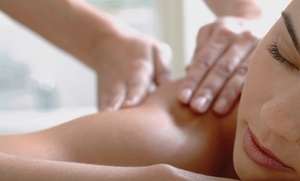 H & M Open Arms Massage Studio: One or Three Massages with Optional Hot Stones at H&M Open Arms Massage Studio (50% Off)