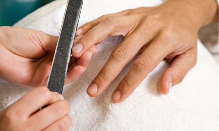 Classic Barber - Classic Barber: Up to 54% Off One or Two Mani-Pedis at Classic Barber