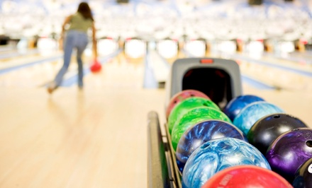 $35 for a Bowling Party with Shoes and Pizza for Up to Six People at Eastgate Lanes ($70 Value)