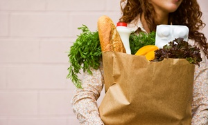 ShopSmart LLC: $14.99 for Personal Shopping and Grocery Delivery from ShopSmart LLC ($29.99 Value)