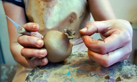 One-Hour Pottery Class for One, Two, or Four at Get Dirty Ceramics (Up to 42% Off)