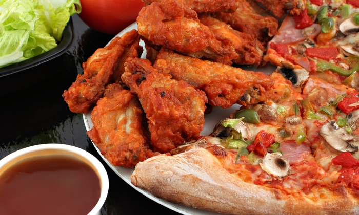 Matt's Pizza Dept. - Multiple Locations: Pizzas, Calzones, Fresh Salads, and Appetizers for Dine-In or Takeout at Matt's Pizza Dept. (Up to 40% Off)