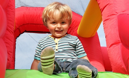 Jump Sessions, Pizza and Bounce, or Birthday Package at Bounce Around (Up to 53% Off). Five Options Available.