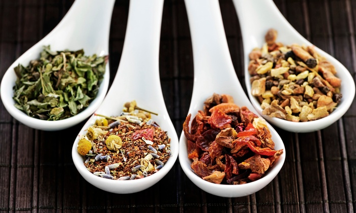 PuraTea Water - Deer Valley: $12 for Four Groupons, Each Good for $5 Worth of Loose-Leaf Tea and Herbs at PuraTea Water ($20 Value)