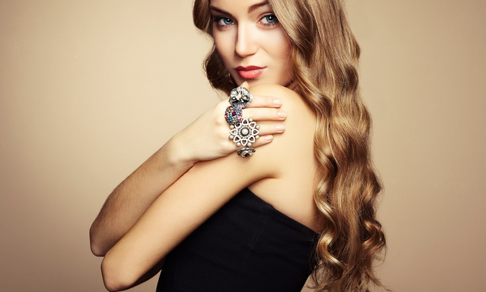 Jolie Couture on Main - Magna: $75 for Eight Laser Hair-Therapy Sessions from Alina at Jolie Couture on Main ($300 Value)