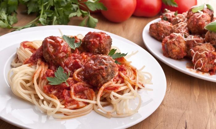 Pronto Lasangeria & Pizzeria - Downtown: Italian Cuisine at Pronto Lasangeria & Pizzeria (Up to 44% Off). Three Options Available.