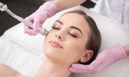 One or Three Medical Microdermabrasion Sessions at The Clinic MK