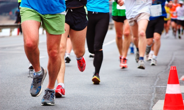 Armed Forces Day Run: 5K or 10K Charity Race on May 21 from Armed Forces Day Run (Up to 40% Off)