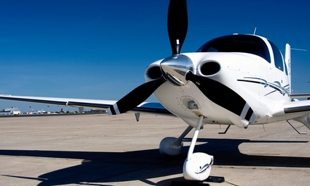 One or Two Groupons, Each Good for a One-Hour Flight Lesson for One from Hart's Aviation B.C. (56% Off)