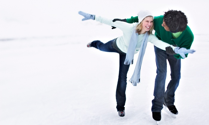 McCarren Rink - Greenpoint and Williamsburg: Ice Skating with Skate Rental, Snacks, and Beverages for Two or Four at McCarren Rink (Up to 41% Off)