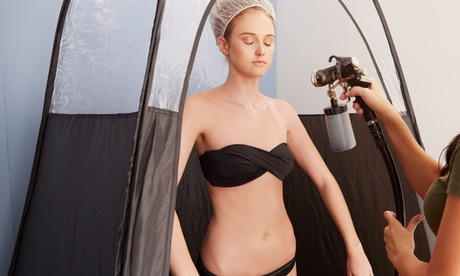 One or Two Customized Airbrush Tanning Sessions at Spray Tan In Ten Organic Spa (Up to 46% Off) 4a67344e-0d41-4970-8d80-c2c473eedc50
