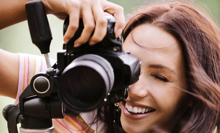 One or Two Three-Hour Advanced Photography Classes from Remember Forever (Up to 56% Off)