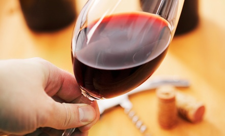 $25 for a Wine-Tasting Package with One Bottle of Wine and Wineglasses for Two ($46 Value)