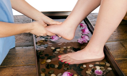 Foot Reflexology Treatment with Detox Footbath and Optional Body Massage at Foot Smile Spa (Up to 64% Off)