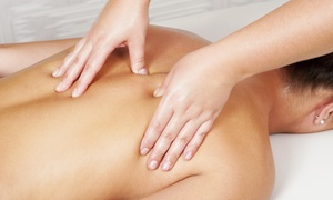 Healthy Touch Massage: Swedish or Deep-Tissue Massage (Up to 48% Off)
