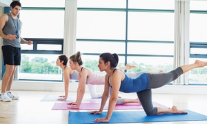 Julie Luther's PurEnergy Fitness Center: Yoga, Spinning, or Pilates Classes at Julie Luther's PurEnergy Fitness Center (Up to Half Off). Two Options Available.