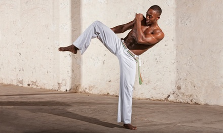 Adult or Kids' Capoeira Classes or Yoga Classes at Thrive Movement Studio (Up to 60% Off). Four Options Available.