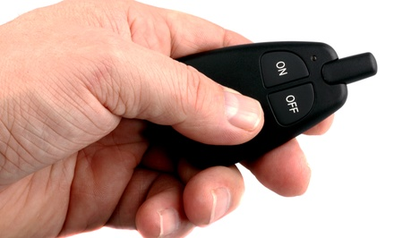 $199 for a Remote Car Start Package at Rayco Car Electronics ($450 Value)