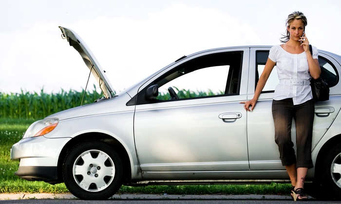 Citywide Roadside Assistance - Sacramento Area: Roadside Assistance from Citywide Roadside Assistance (Up to 66% Off). Three Options Available.
