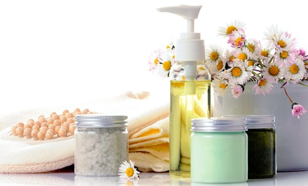 Essential Oils and DIY Spa Products Class for One orTwo People