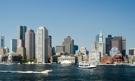 [BYOB/F Island Picnic to Spectacle Island for 1, 2, 6, or 12 from Boston Harbor Shuttle (Up to 60% Off)     Image]