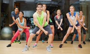 Dance 2B Fit: 5 or 10 Zumba Classes at Dance 2B Fit (Up to 61% Off)