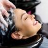 Shampoo, taglio, piega e colore