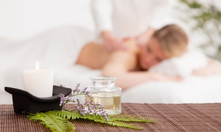 60 Minute Massage of Choice ($45) or 90 Minute Body Spa Treatment ($65) at Amor's Nailsbeauty and Spa (Up to $120 Value)