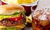 Burger, Wrap or Sandwich + Drink