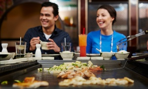 Fuji Steak House: $16 for $30 Worth of Hibachi and Sushi Dinner for Two or More at Fuji Steak House