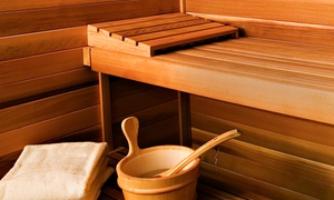King Spa and Sauna- Chicago: Spa Day for One with Optional Access to Base Rock Room at King Spa and Sauna (Up to 42% Off)